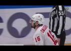 """Video: Sezonas pēdējā mačā Daugaviņš realizē uzvaras """"bullīti"""""""