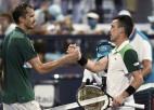 """Bautista-Aguts turpina perfekto sēriju pret Medvedevu, būs jauns """"Masters"""" čempions"""