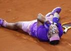 Nadals 3,5 stundas ilgā finālā atspēlē mačbumbu un 12. reizi uzvar Barselonā