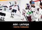 Latvija - ASV 2:4 (Spēle galā)