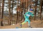 Kazahstānas slēpotāja sodīta par atrašanās vietas norādes pārkāpumiem