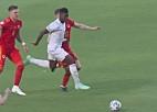 """Video: """"Euro 2020"""" otrajā mačā Velsa un Šveice nospēlē neizšķirti, atceļ uzvaras vārtus"""