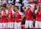 Dānijas FA: ''Ēriksena stāvoklis ir stabils, turpinās veseļoties slimnīcā''