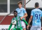 """Latvijas kauss: """"Limbažiem"""" 10:0, Virslīgā spēlējušais nigērietis Bazils iesit """"Caramba"""" panākumā"""