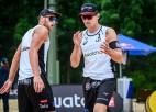 Pļaviņš un Točs spēli ar čehiem neaizvadīs, Latvijas duetam piešķirta tehniskā uzvara