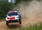 Rovanpera Igaunijas rallijā kļūst par WRC vēsturē jaunāko uzvarētāju