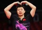 Leģendārais Ķīnas galda tenisists Mā nosargā olimpiskā čempiona titulu