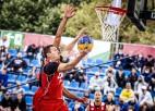 """""""Riga"""" 3x3 basketbolisti ar divām uzvarām sāk titula aizstāvēšanu Prāgā"""