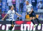 """""""Inter"""" zaudē punktus, Zlatanam vārti """"Milan"""" uzvarā, Mourinju turpina perfekti"""