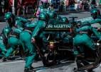 """""""Aston Martin"""" beidzot paziņo nākamās sezonas F1 pilotus"""