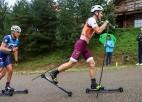 Latvijas izlases rollerslēpotāji, neskatoties uz ķibelēm, atzīstami pabeidz pasaules čempionātu