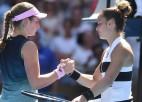 "Ostapenko tiksies ar šogad divus ""Grand Slam"" pusfinālus sasniegušo Sakari"