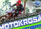 Latvijas amatieru čempionāta piektais posms motokrosā notiks Pilsblīdenē
