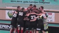 """Talsu NSS/""""Irlava"""" kļūst par pirmajiem Latvijas junioru florbola līgas čempioniem"""