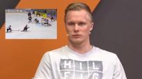 """R. Ābols: """"Īsti nesapratu, ko izdarīju, taču IIHF topā <i>gola</i> nebija"""""""