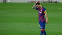 """Mesi pirmā sarkanā kartīte """"Barcelona"""" rindās, 753. mačā"""