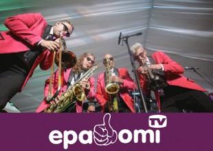 Video: Lielais lietuvietis un The Jokers ārdās Daugavas koncertzālē