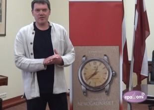 Video: Izdota Armanda Pučes grāmata par Herbertu Cukuru