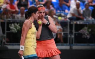 """Latvijas tenisa dāmu kapteinis Žguns: """"Nedrīkstam indietes uztvert viegli"""""""