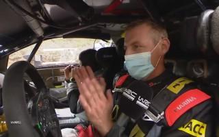 Video: Pilots pēc debijas pie WRC auto stūres: ''Šogad man seksu vairs nevajadzēs''