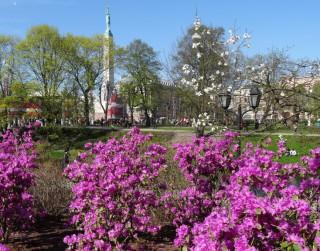 Foto: Rīga nosvinējusi 4.maija svētkus
