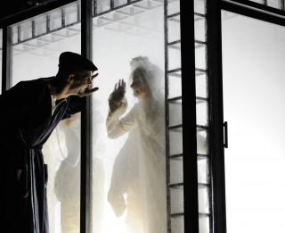 """Foto: Nacionālā teātra Migela de Unamuno izrāde """"Migla"""""""