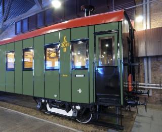 Latvijas Dzelzceļa muzejā apskatāms atjaunotais nacionālais dārgums – 1925. gada pasažieru vagons!