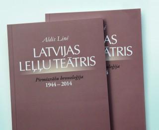 Izdota Latvijas Leļļu teātra Pirmizrāžu hronoloģija 1944 – 2014