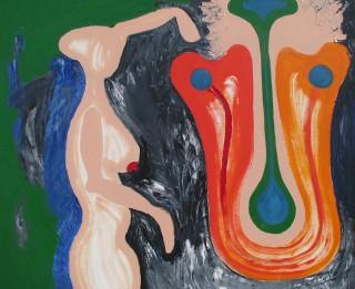 """Galerijā """"Mākslas Banka"""" skatāma Rolanda Dzeņa izstāde """"Atdzimšana"""""""