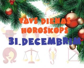 Tavs dienas horoskops 31. decembrim
