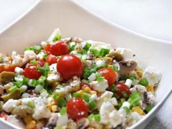 Neparastie gardēžu salāti