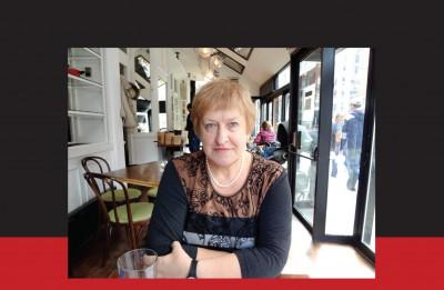 """Valmieras teātrī <i>prof.</i> Silvijas Radzobes lekcija  pirms pirmizrādes """"Meistars un Margarita"""""""