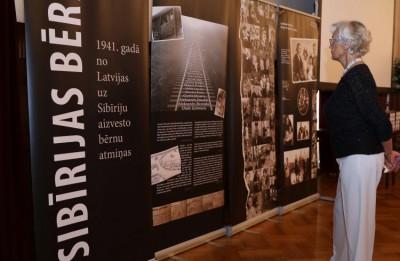 """Izstādes """"Sibīrijas bērni"""" atklāšana un filma festivālā """"Via Baltica"""""""
