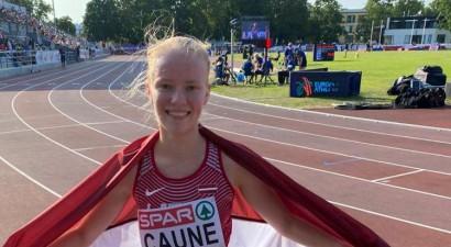 Caune 5000 metros nopelna Latvijai otro medaļu Eiropas U20 čempionātā