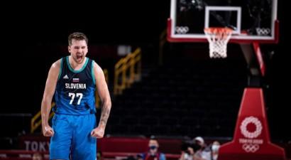 Tokijas basketbola simboliskajā izlasē piecu valstu pārstāvji, Durents apsteidz Dončiču