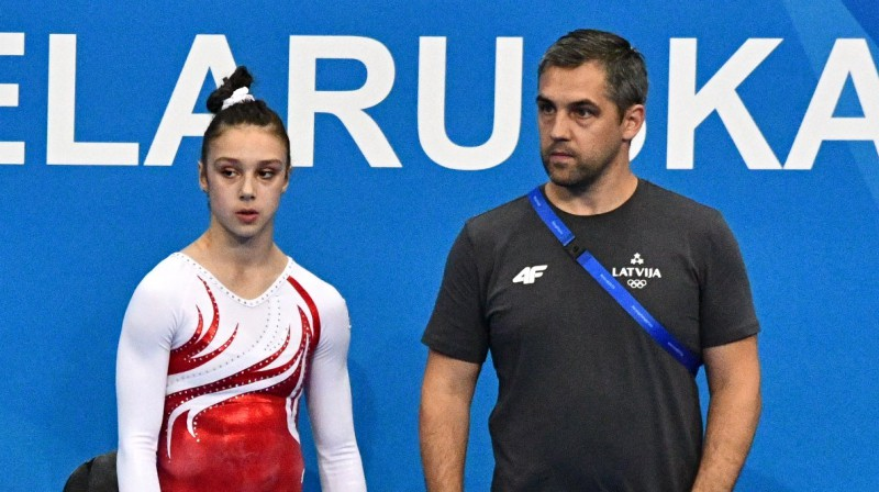 Elīna Vihrova un Igors Vihrovs. Foto: Mārtiņš Mālmeisters / Latvijas Olimpiskā komiteja