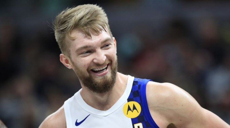 Domants Sabonis. Foto: AFP/Scanpix