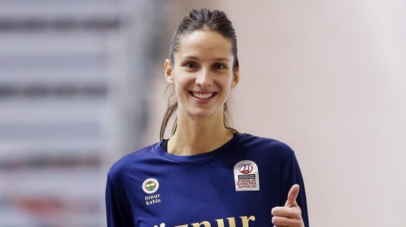 Kristīne Vītola. Foto: Fenerbahce