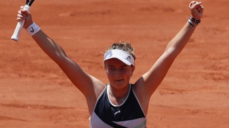 Barbora Krejčikova. Foto: Reuters/Scanpix