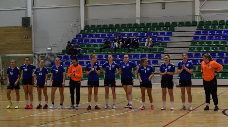 """REIR Dobele SS"" handbolistes. Foto: Latvijas Handbola federācija"