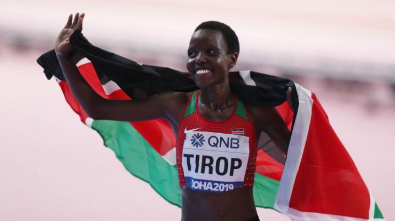 Agnese Tiropa. Foto: Reuters/Scanpix