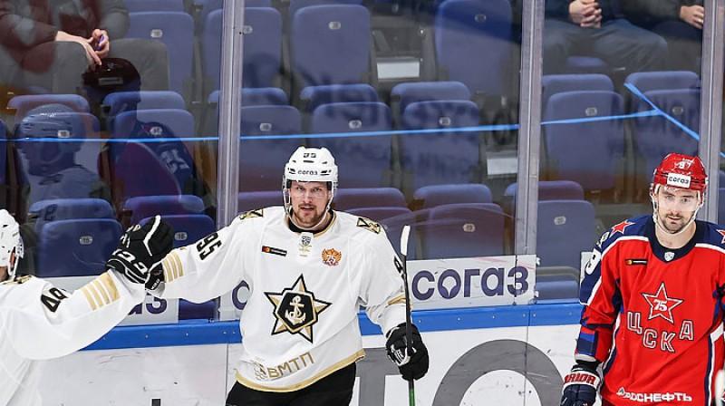 Rihards Bukarts. Foto: cska-hockey.ru