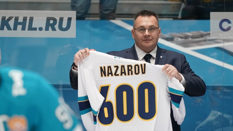 Soču galvenais treneris Andrejs Nazarovs. Foto: HC Sochi