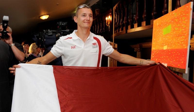 Latvijas karogu olimpiādes atklāšanā nesīs Pļaviņš
