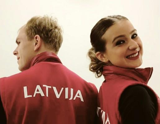 Džonss un Ipolito pārstāvēs Latvijas daiļslidošanu Eiropā