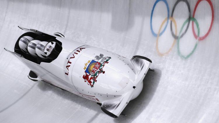 Melbārdis un Ķibermanis šonakt aizvadīs pirmos olimpiskos braucienus četriniekos