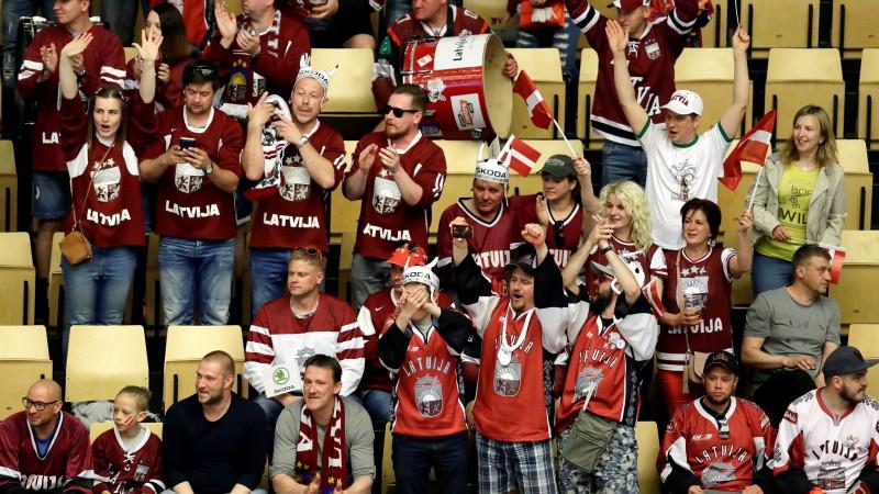 Maija vidū lems par hokeja pasaules čempionāta skatītājiem un fanu zonu