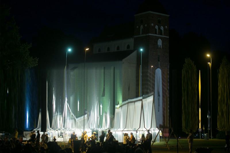 Valmieras centrā būvēs īpašu vasaras teātra festivāla pilsētu