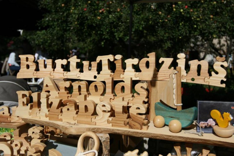 Burtu tirgus Kalnciema kvartālā 1. septembrī