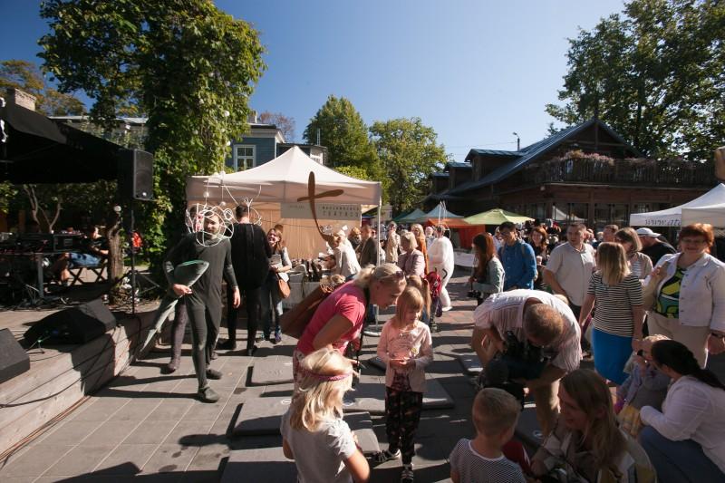 8. septembrī tradicionālā Nacionālā teātra diena  Kalnciema kvartāla tirgū